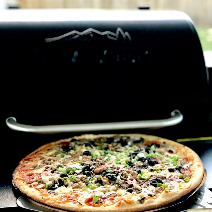 Grilled Papa Murphy's Pizza