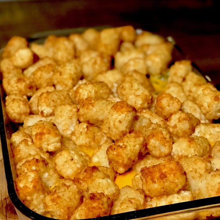 Quick and Easy Tatertot Casserole